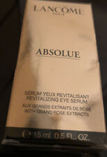 Lancome Absolue Revitalizing Eye Serum Grand Rose Extracts New Sealed