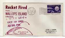 4987) USA 1961 Space Rocket Wallops Isl. Oct 19 1961