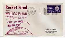 4987) USA 1961 Space Rocket Wallops Isl. Oct 19 1961