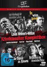 Gesamtbox LOUIS WEINERT-WILTON CLASSICI DI CRIMINE Edgar Wallace Stile 4 Box DVD