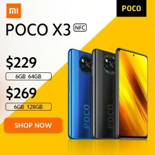 Flash Super Sale POCO X3 NFC Global Version Snapdragon 732G Xiaomi Smartphone