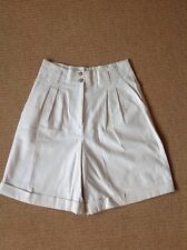 Marks and Spencer Oatmeal Coloured Womens Shorts size 12