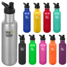 Klean Kanteen Clásico 27 OZ (approx. 765.42 g) Botella de Pared Simple Con Tapa 3.0 Sport