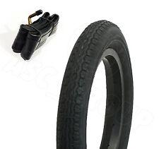 """Pram Pushchair Tyre Bike Tire - 10"""" x 2"""" Inch & Bent Valve Schrader Tube"""