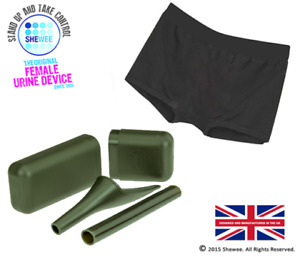 SHEWEE Armed Forces  Active Pack - The Only Genuine And Original She Wee Portabl