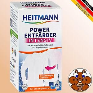 HEITMANN Power Entfärber Intensiv 250g Entfärben Verfärbungen Vergrauungen