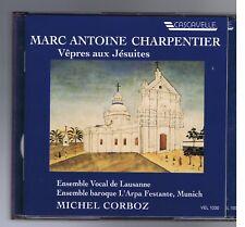 CHARPENTIER BOX 2 CDS VEPRES AUX JESUITES / MICHEL CORBOZ/ CHARLES DANIELS