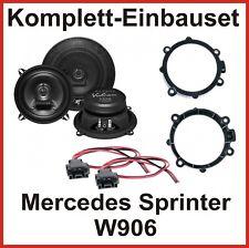 Hifonics VX-52 Koaxial Lautsprecher vorne Einbauset für Mercedes Sprinter W906