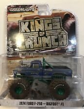 Greenlight Bigfoot #1 Monster Truck 1974 Ford F250 Dirty Version 1/64 CHASE