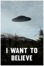 I Want To Believe TV Poster 24x36 inch