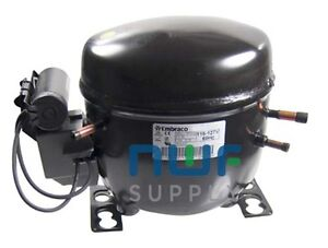Embraco EGZ90HLP Replacement Refrigeration Compressor R-134A 1/3 HP