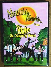 ATENCION ATENCION - DE VIAJE CON SENOR SAPO Y VERA - EN VIVO (DVD) NEW