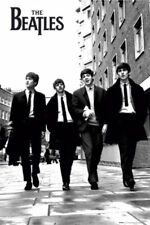 The Beatles In London Music Rock Pop Maxi Poster Print 61x91.5cm   24x36 inches