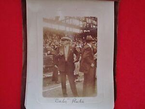 1934 BaseBall World Series 18 Pic B/W Album w/ Babe Ruth & w/ Orig. Negatives