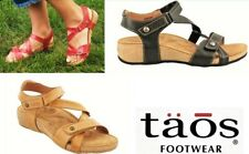 Taos Footwear Comfort Leather adjustable Sandals Taos Shoes Universe 3 colours