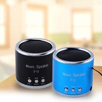 Mini Digital Portable Music MP3 Player Micro TF USB Disk Stereo Speaker FM Radio