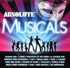 2 CD Absolute Musicals Musical Mamma Mia Chess Phantom