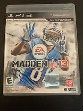 PS3G622 Madden NFL 13 (Sony PlayStation 3, 2012) GET IT FAST ~ US SHIPPER