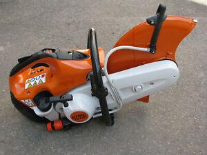 Stihl Benzin-Trennschleifer Stihl TS 420 Motortrenner + Diamantscheiben 350 mm