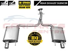 FOR LEXUS IS250 2.5 PETROL RWD REAR TWIN TAIL PIPE EXHAUST SILENCER BACK BOX