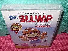 DR SLUMP - ARALE - VOL.4 - VERSION INTEGRA  - NUEVA - 4 DVDS