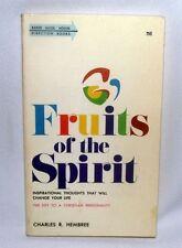 Charles Hembree Fruits of the Spirit Christian Bible Inspiration PB Galatians