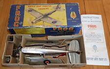 TRIANG FROG MARK V SINGLE SEAT FIGHTER PLANE MODEL AIRCRAFT BOXED RARE VINTAGE
