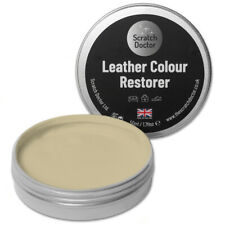 50ml CREAM Leather Colour Restorer. For Faded/Worn Leather Shoe Handbag Sofa