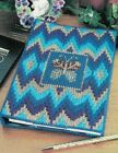 BUTTERFLY BARGELLO NOTEBOOK COVER PLASTIC CANVAS PATTERN INSTRUCTIONS