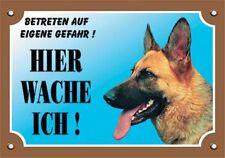 Nobby - Warntafel deutscher Schäferhund 205 X 140mm