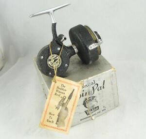 Old Vintage HEDDON SPIN PAL No. 240 Spinning Reel + Box - Manual Line Pickup