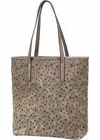 Damen Handtasche Schulter Umhänge Trage Tasche Bag Shopper braun Groß NEU