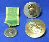 WWII WAC Womens Army Corps Enlisted Discs & Vietnam War Era Restrike Medal Lot