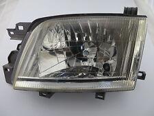 Subaru Forrester '00-'02. Headlight LHS. Plastic lens. Good condition.