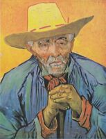 """high quality oil painting handpainted on canvas """"Portrait of an old man"""""""