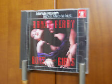 BRYAN FERRY BOYS AND GIRLS  CD