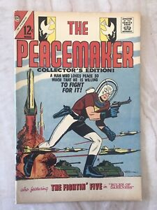 PEACEMAKER #1-SUICIDE SQUAD-CHARLTON 1967 VF+ 8.5