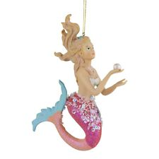 Large Hanging Mermaid Christmas Tree Decoration Under the Sea Ornament