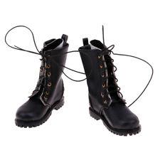 1/6 Scale Male Combat Shoes Boots for 12'' Dolls Astoys Action Figure Black
