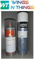 UPOL Aerosol Spray Paint + LACQUER SUBARU BLACK MICA 47A