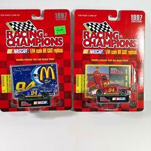 Lot 2 McDonald's #94 Bill Elliott Stock Car Racing Champions 1997 Edition Cars
