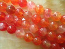 "8mm red Dragon Veins Agate Round Gemstones Loose Beads 15""##RE012"