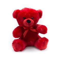 "9"" Red Plush Teddy Bear Stuffed Animal Toy Gift New"
