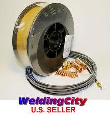 """MIG Gun Accessory Kit & Welding Wire ER70S-6 11-lb 0.030"""" for Miller M-10/ M-15"""