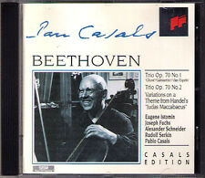 Pablo Casals: Beethoven Piano Trio No. 5 6 Rudolf Serkin Istomin CD Klaviertrio