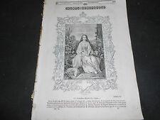 1842 SANTA GENOVEFFA CHIESA SAN LORENZO NAPOLI DURER CATTEDRALE BARCELLONA