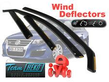 VW PASSAT 3C5 2005 - 2014 ESTATE / WAGON  Wind deflectors 4.pc set  HEKO 31170