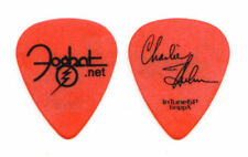 Foghat Charlie Huhn Signature Orange GrippX Guitar Pick - 2010 Tour