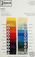 Auswahl von 6 m Ponge 5 aus 20 Farben, 100% Seide; (Nuno-) Filzen / Dekostoff