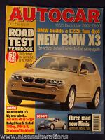 AUTOCAR Magazine 18/25th December 2002 RoadtestYearbook